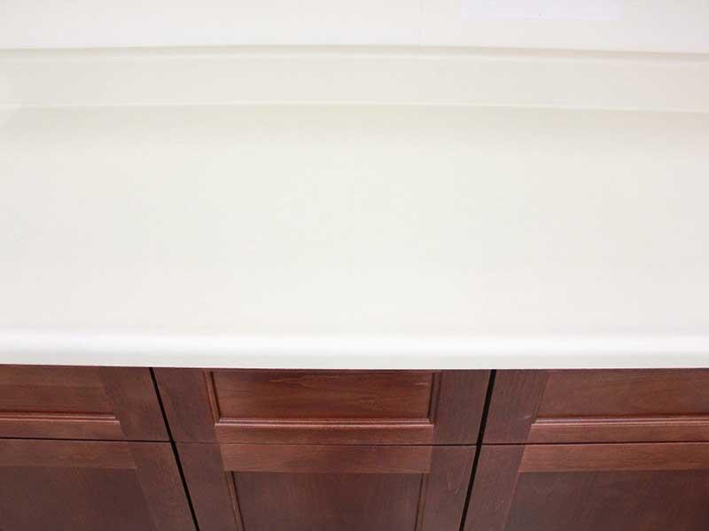Almond Laminate Kitchen Cabinets