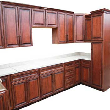 Sedona maple kitchen cabinets builders surplus for Wholesale kitchen cabinets los angeles