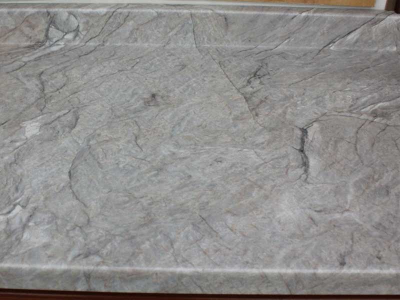 Silver Quartzite Laminate Top Builders Surplus Wholesale Kitchen And Bathroom Cabinets In