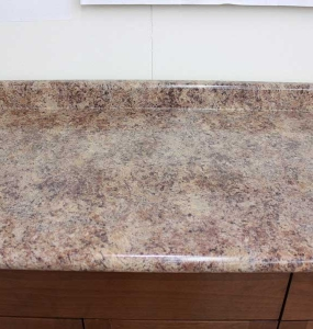 Butterrum Granite Laminate Top